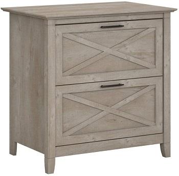 BEST OF BEST Bush Furniture Key West Grey File Cabinet