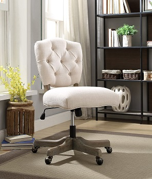 BEST OF BEST VINTAGE STYLE Linon OC055 Office Chair