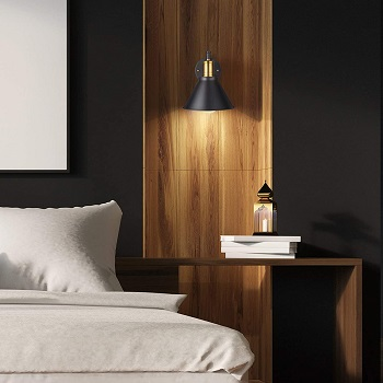 BEST OF BEST WALL-MOUNTED ArcoMead Bedroom Reading Lamp