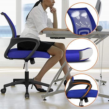 BEST OF BEST Yaheetech Comfortable Affordable Office Chair