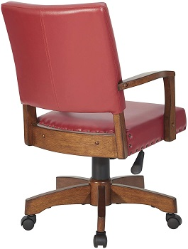 BEST ON WHEELS ANTIQUE WOODEN OSP Home 109MB Desk Chair