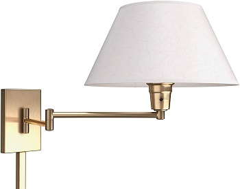 BEST SWING ARM WALL-MOUNTED Bedroom Reading Lamp
