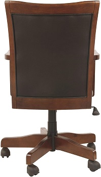 BEST SWIVEL VINTAGE WOODEN Signature Design H527-01A Office Chair