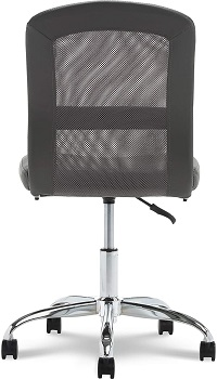 BEST TALL ARMLESS OFFICE CHAIR WITH LUMBAR SUPPORT