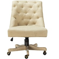 BEST WIH BACK SUPPORT VINTAGE LEATHER DESK CHAIR Summary