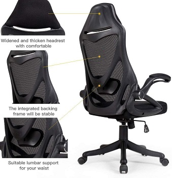 BEST WITH ARMRESTS Berlman YT-1 Adjustable Swivel Chair
