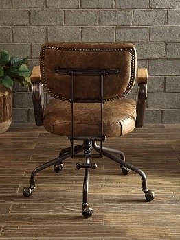 BEST WITH ARMRESTS VINTAGE STYLE Acme 92410 Office Chair