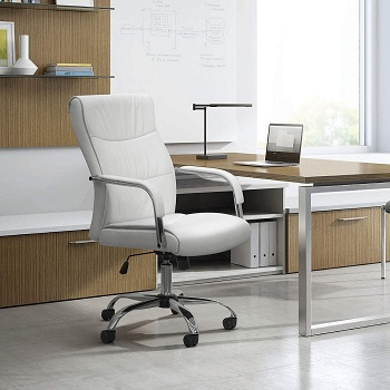 BEST WITH BACK SUPPORT ALL WHITE DESK CHAIR