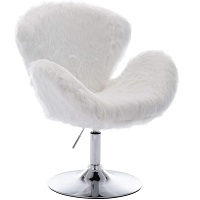 BEST WITHOUT WHEELS ALL WHITE DESK CHAIR Summary