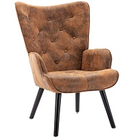 BEST WITHOUT WHEELS VINTAGE LEATHER DESK CHAIR Summary