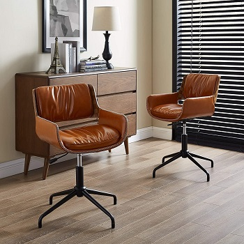 BEST WITHOUT WHEELS VINTAGE STYLE Volans Office Chair