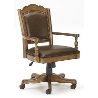 Best Back Support Vintage Wooden Office Chair Summary