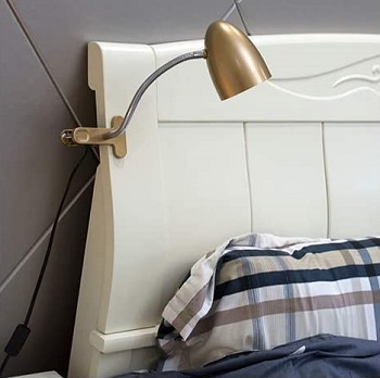Best Clamp Vintage Energetic LED Headboard Lamp