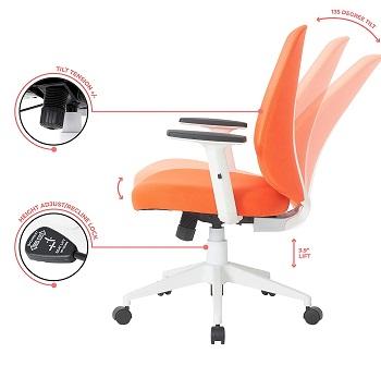 Best Computer Chair Height-Adjustable Swivel Chair