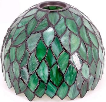 Best For Reading Green Glass Shade Desk Lamp