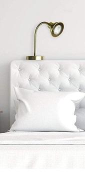 Best LED Vintage Solfres Headboard Lamp