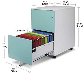 Best Of Best Fully Assembled Aurora Modern File Cabinet