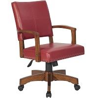 Best On Wheels Antique Wooden Desk Chair Summary