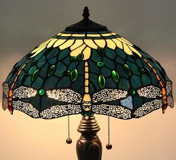 Best Tiffany Green Glass Shade Desk Lamp