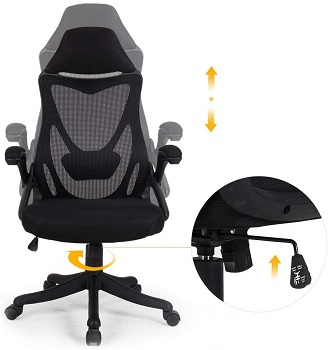 Best With Armrests Adjustable Swivel Chair