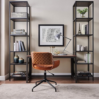 Best Without Wheels Vintage Style Office Chair
