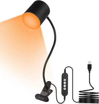 Beyoxfath LED Amber Lamp