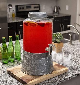 BirdRock Glass Beverage Dispenser Review