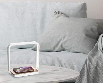 Blonbar Bedside Lamp Qi Wireless
