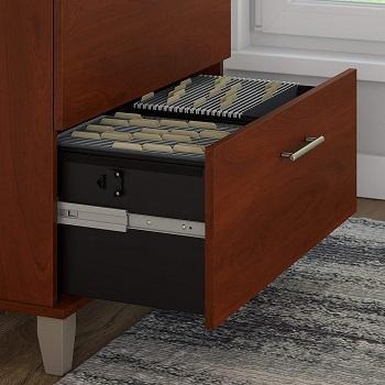 Bush Furniture 2-drawer Lateral File Cabinet