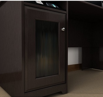 Bush Furniture Cabot L Shaped review