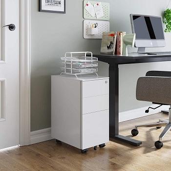 Devaise Slim File Cabinett