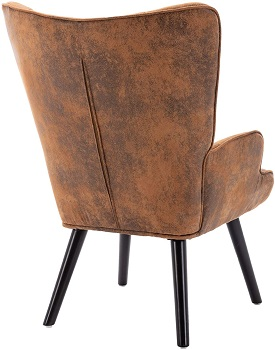 Dolonm Rustic Accent Chair