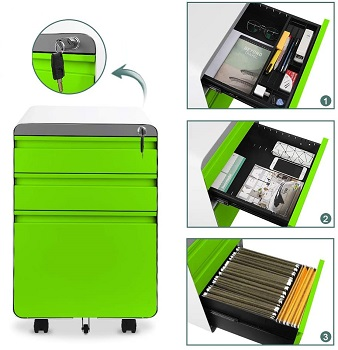 Dprodo 3 Drawers Mobile review