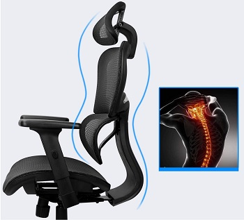 Ergousit 12-Hour Rated Chair