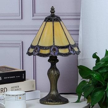 GlassMyth Tiffany Table Lamp Review