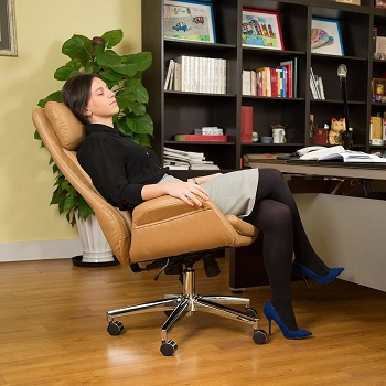 Glitzhome 70s Desk Chair