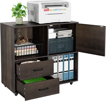 HOMECHO File Cabinet Mobile Lateral review