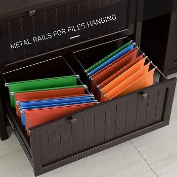 Homcom Retro Style File Cabinet
