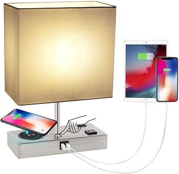 KBest Touch Control Nightstand Lamp