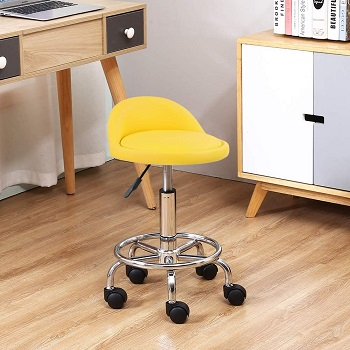 Kktoner Adjustable Height Desk Stool