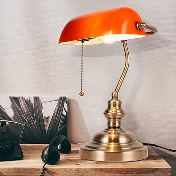 Newrays Amber Bankers Lamp Review