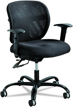 Safco 3397BL 500 Pound Office Chair Review