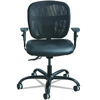 Safco 3397BL 500 Pound Office Chair Summary