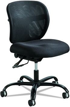 Safco 3397BL 500 Pound Office Chair