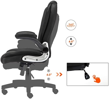Seatingplus EX2878A Executive Desk Chair