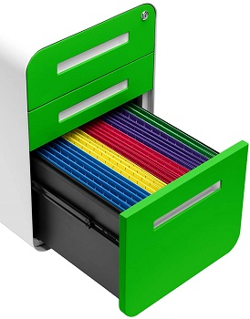 Stockpile 3-Drawer Mobile File Cabin
