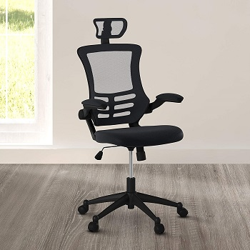 Techni Mobili High-Back Mesh Chair
