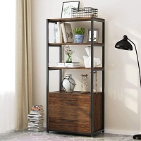 Tribesigns Bookcase with picks