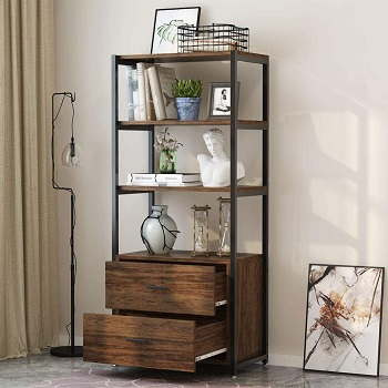 Tribesigns Bookcase with