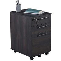 3-Drawer Office Filing Storage Cabinet with Lock Drawer picks